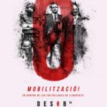 DESOB14 Manifestació 29 març Barcelona