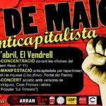 Actes 30 d'abril El Vendrell