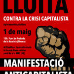 Cartell 1r Maig 2014 Girona