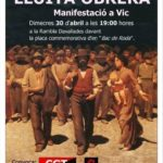 Cartell 30 d'abril Vic
