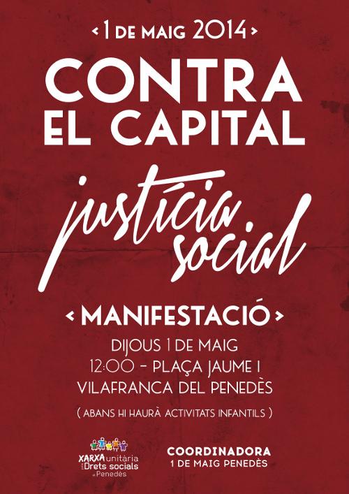 1 maig Vilafranca