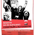Manifestacions CGT Catalunya 1r Maig 2014