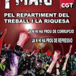 Cartell 1 Maig CGT català