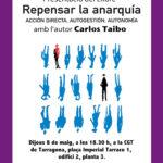 Cartell Carlos Taibo Tarragona