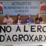 Roda de premsa a Lleida